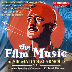 The Film Music of Sir Malcolm Arnold Vol. 1 Soundtrack (Malcolm Arnold) - CD cover