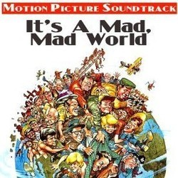 It's a Mad, Mad, Mad, Mad World Trilha sonora (Ernest Gold) - capa de CD