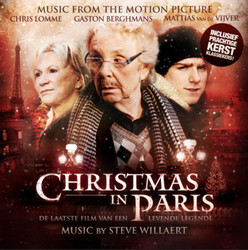 Christmas in Paris Trilha sonora (Steve Willaert) - capa de CD