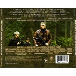 Defiance Soundtrack (James Newton Howard) - CD Trasero