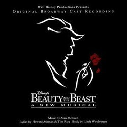 Beauty and the Beast Soundtrack (Howard Ashman, Original Cast, Alan Menken, Tim Rice) - CD cover
