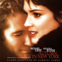 Autumn in New York Soundtrack (Various Artists, Gabriel Yared) - Car�tula
