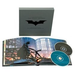 The Dark Knight Soundtrack (James Newton Howard, Hans Zimmer) - Carátula