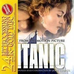 Titanic Soundtrack (James Horner) - CD-Cover