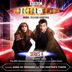 Doctor Who: Series 4 Soundtrack (Murray Gold) - CD cover