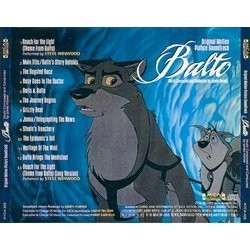 Balto Soundtrack (James Horner, Steve Winwood) - CD Trasero