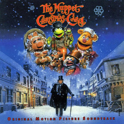 The Muppet Christmas Carol Trilha sonora (Miles Goodman, Paul Williams) - capa de CD