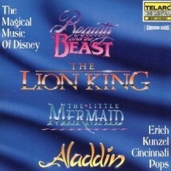 The Magical Music of Disney Soundtrack (Various Artists, Alan Menken, Hans Zimmer) - CD cover