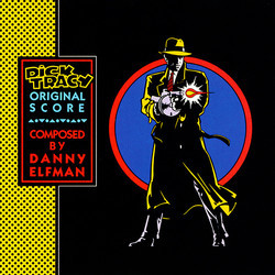 Dick Tracy Soundtrack (Danny Elfman) - CD cover