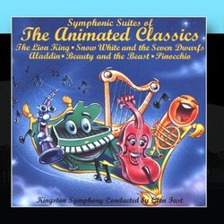 Symphonic Suites of the Animated Classics Bande Originale (Various Artists, Kingston Symphony) - Pochettes de CD