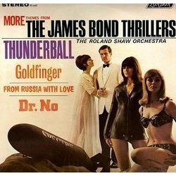 More Themes from the James Bond Thrillers Colonna sonora (John Barry, Monty Norman) - Copertina del CD