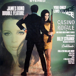 James Bond Double Feature: You Only Live Twice / Casino Royale Soundtrack (Burt Bacharach, John Barry, Alexander Faris, Jerry Goldsmith, Francis Lai, Henry Mancini, Ennio Morricone, Sonny Rollins) - CD-Cover