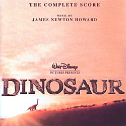 Dinosaur (Complete) Soundtrack (James Newton Howard) - CD cover