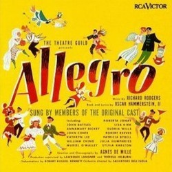 Allegro Soundtrack (Oscar Hammerstein, Richard Rodgers) - CD-Cover