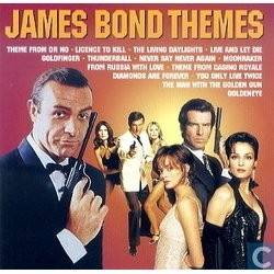 James Bond Themes Soundtrack (Burt Bacharach, John Barry, Michael Kamen, Michel Legrand, George Martin, Monty Norman, Eric Serra) - CD cover