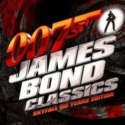 007 James Bond Classics Soundtrack (Various Artists) - CD cover