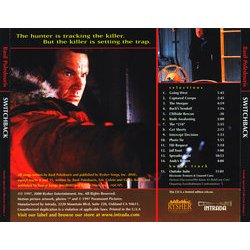 Switchback Soundtrack (Basil Poledouris) - CD Trasero