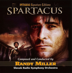 Spartacus Soundtrack (Randy Miller) - Car�tula