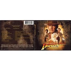 Indiana Jones: The Soundtracks Collection Trilha sonora (John Williams) - capa de CD
