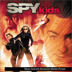 Spy Kids Soundtrack (John Debney, Danny Elfman, Gavin Greenaway, Harry Gregson-Williams, Robert Rodriguez) - CD cover
