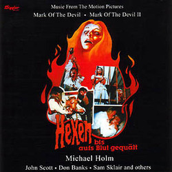 Mark of the Devil / Mark of the Devil II Soundtrack (Michael Holm) - CD cover
