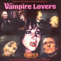 The Vampire Lovers Soundtrack (Harry Robinson) - CD cover