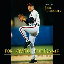 For Love of the Game Soundtrack (Basil Poledouris) - CD cover