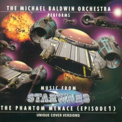 Star Wars Episode I: The Phantom Menace Soundtrack (John Williams) - CD cover