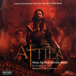 Attila Soundtrack (Nick Glennie-Smith) - Carátula