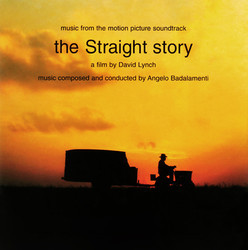 The Straight Story Soundtrack (Angelo Badalamenti) - CD cover