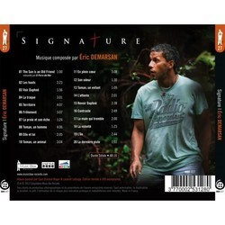 Signature Soundtrack (Eric Demarsan) - CD Back cover