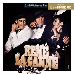 René la Canne / One, Two, Two: 122 rue de Provence Soundtrack (Ennio Morricone) - CD cover