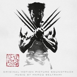 The Wolverine Soundtrack (Marco Beltrami) - CD cover