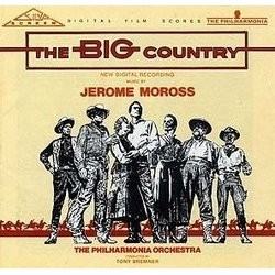 The Big Country Bande Originale (Jerome Moross) - Pochettes de CD