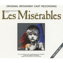 Les Mis�rables Soundtrack (Claude-Michel Sch�nberg) - CD cover