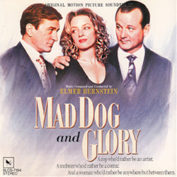 Mad Dog and Glory 声带 (Elmer Bernstein) - CD封面