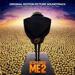 Despicable Me 2 Soundtrack (Heitor Pereira, Pharrell Williams) - CD cover