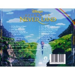 Return to Never Land 声带 (Joel McNeely) - CD后盖