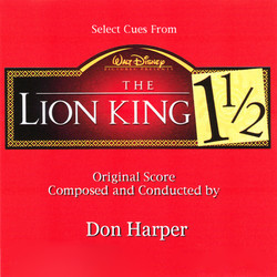 The Lion King 1½ Bande Originale (Don Harper) - Pochettes de CD