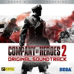 Company of Heroes 2 Soundtrack (Cris Velasco) - CD cover