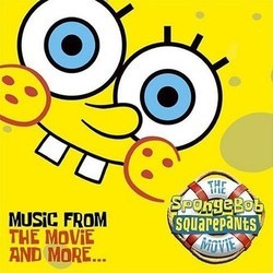 The SpongeBob SquarePants Movie Trilha sonora (Various Artists, Gregor Narholz) - capa de CD