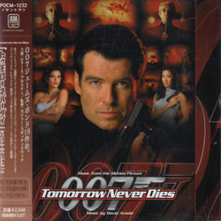Tomorrow Never Dies Soundtrack (David Arnold) - CD cover
