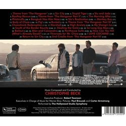 The Hangover Trilogy Soundtrack (Christophe Beck) - CD Back cover