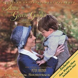 Anne of Green Gables: The Continuing Story Soundtrack (Peter Breiner) - CD cover