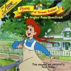 Anne of Green Gables Soundtrack (Peter Breiner) - CD cover