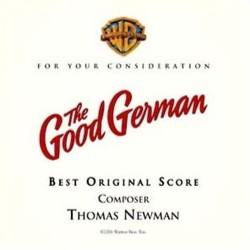 The Good German Colonna sonora (Thomas Newman) - Copertina del CD