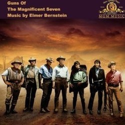 Guns of the Magnificent Seven Bande Originale (Elmer Bernstein) - Pochettes de CD