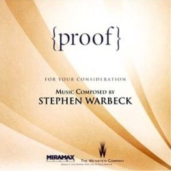 {proof} Soundtrack (Stephen Warbeck) - CD cover