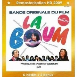 La Boum Soundtrack (Various Artists, Vladimir Cosma) - CD cover