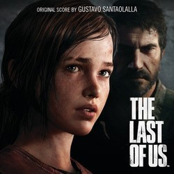 The Last of Us Soundtrack (Gustavo Santaolalla) - CD cover